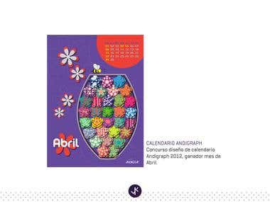 Calendar Andigraph