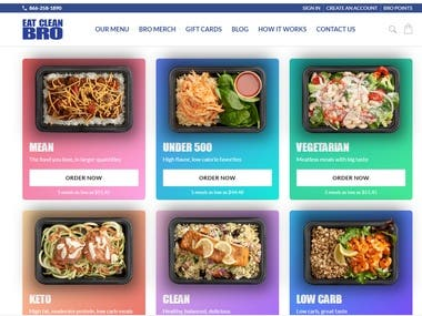 FRESH FOOD DELIVERY SITE