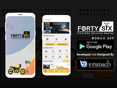 FortySix: Find and Book Bike Services Nearby