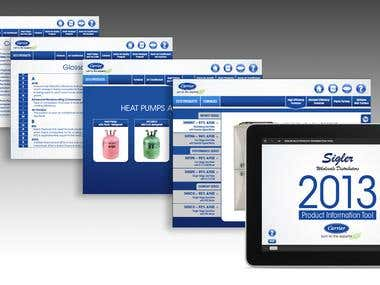 Sigler Product Information Tool for iPad