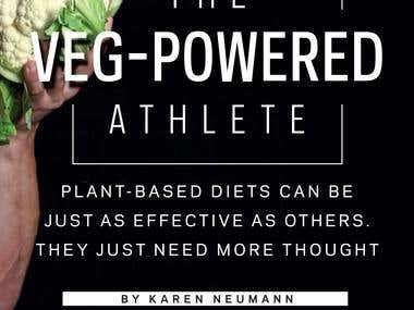 Veg Powered Athlete Article Cover