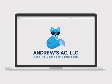 Logo Design for Andrew's AC
