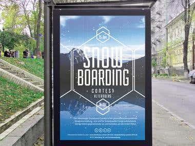 Snowboarding Contest Altenberg