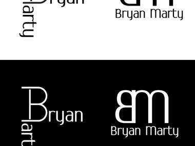 Bryan Marty logo sample