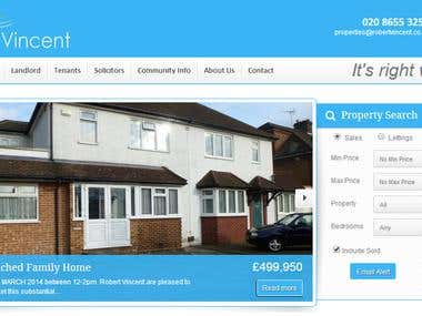 RealEstate Website for UK