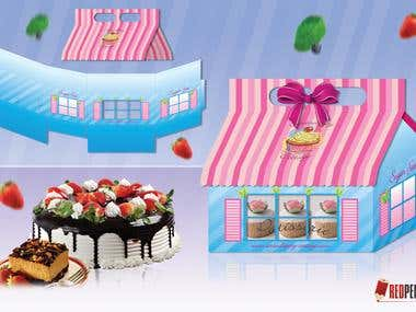 Cake Package Design