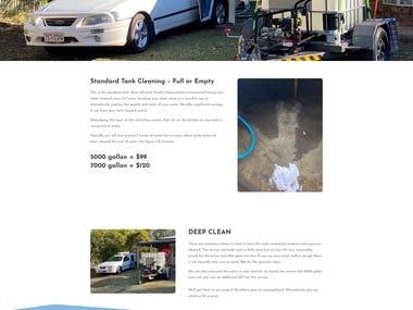 Standard Tank Cleaning website