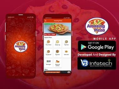 Amazing Pizza -Online Delivery-Order Food
