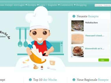 Recipe Directory Website