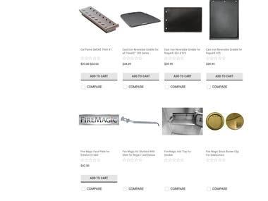 PHP / Laravel shopping site