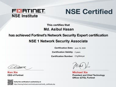 NSE- 1 Certified