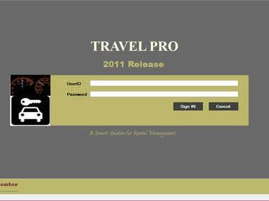 Travel Pro- A complete Solutions for Travel Industry