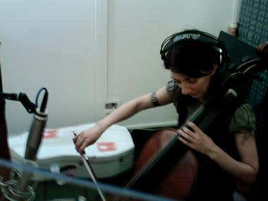 julia kent at my recording studio