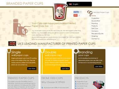 Branded Paper Cups UK