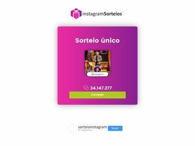 Instagram Web App