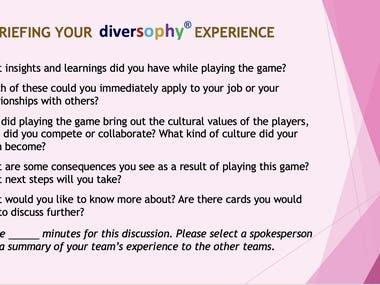 DiversiSMILES game