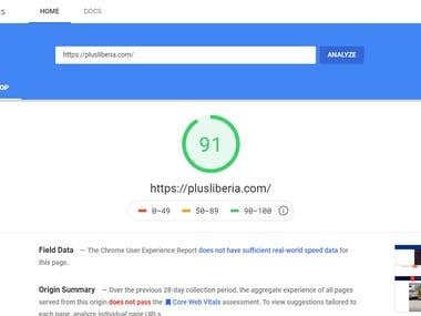Website Speed Optimization (WordPress)