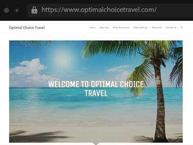 Optimal Choice Travel - Travel Agency