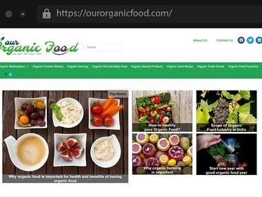 Organic Food - ECommerce