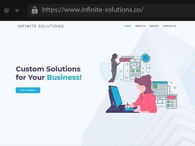 Infinite_Solutions - Business Consultancy Company