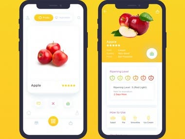 Fruit Information App