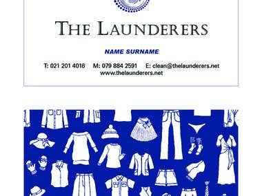 Business Card The Launderers