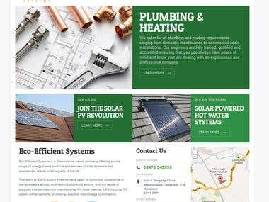 Wordpress Site - Eco-Efficient Systems