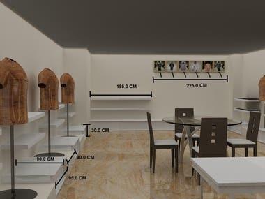 Final shop design