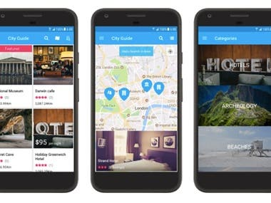 15 Best Android App Templates With Maps Integration