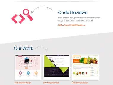 Our exclusive web templates