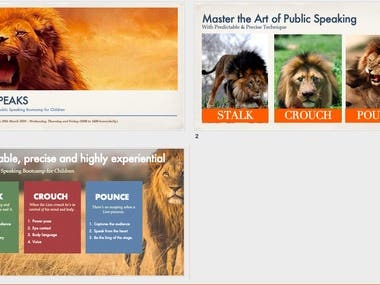Lion Speak Introductory Deck