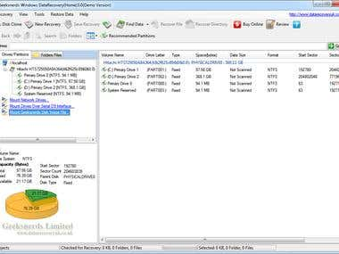 Data Recovery Server for Windows and Linux