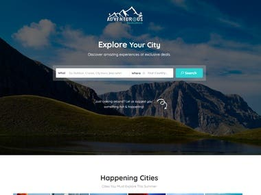 Online Booking Web Application