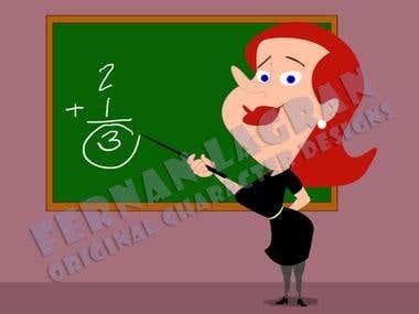 Character Design - Teacher
