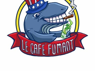 Logo design with Mascot