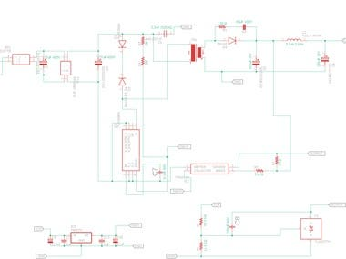 220V AC to 5V DC conversion through SMPS circuit
