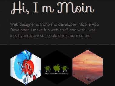 This is my Portfolio website