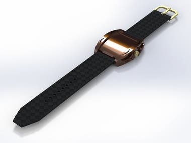 watch design and rendering