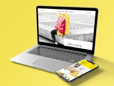 E-commerce Website Rebranding