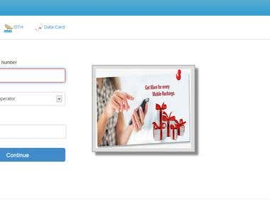 create online mobile recharge site