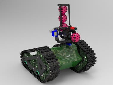 Tank with Ball Cannon (RC)