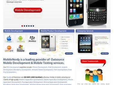 Home Page - Mobile Nerdy