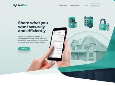 Live Key (Website)