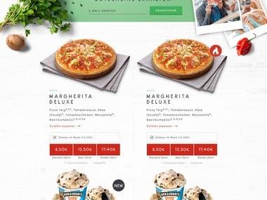 Pizza Max (Website)