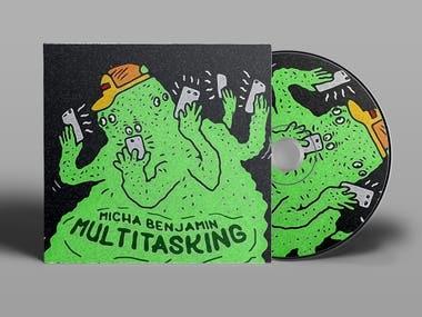 Album cover design - Micha B.