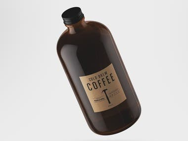 Cold Brew Coffee | Logo Design