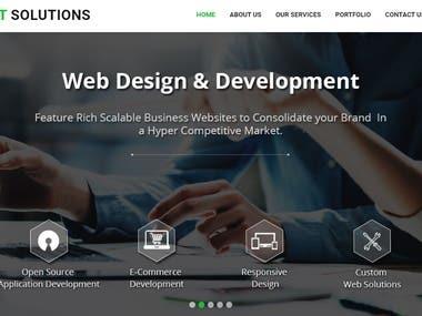IT Service website