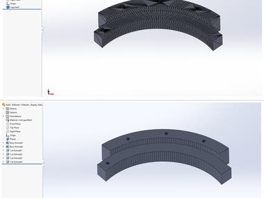 .STL to .STEP Conversion using Solidworks