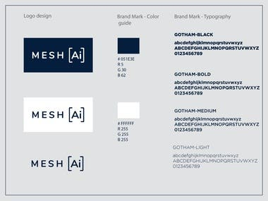 Logo, brand style guide and Identity - Tech company
