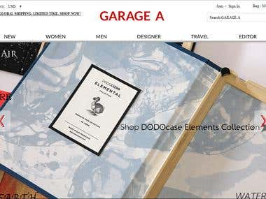 Ecommerce- Magento website